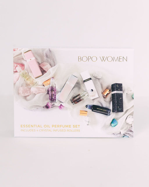 Bopo Women | Crystal Perfume Oil Roller Gift Set-Bopo Women-Homing Instincts