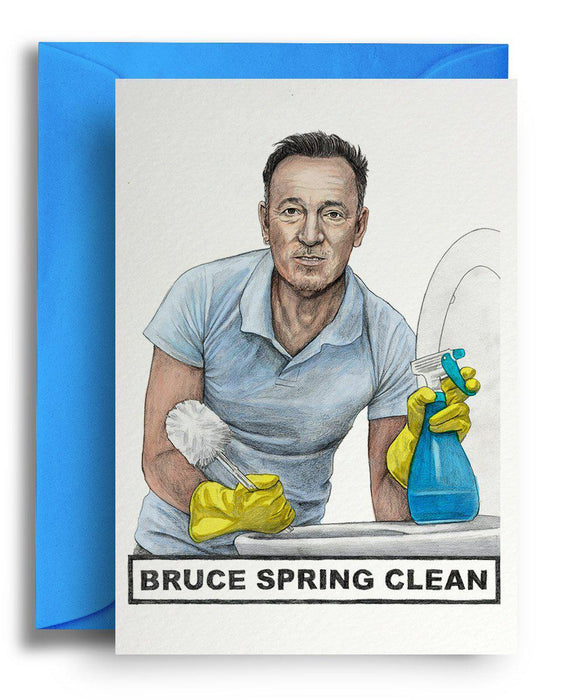 Bruce Spring Clean Card-Homing Instincts