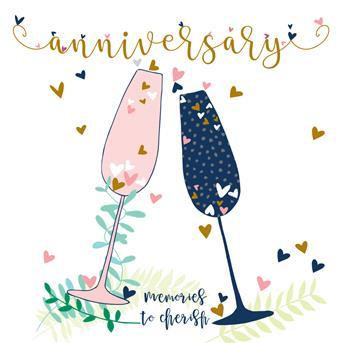 Card - Anniversary: Memories by Molly Mae-Scarpa Imports-Homing Instincts