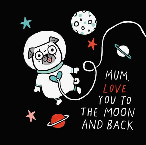 Card - Love you to the moon-Vevoke-Homing Instincts