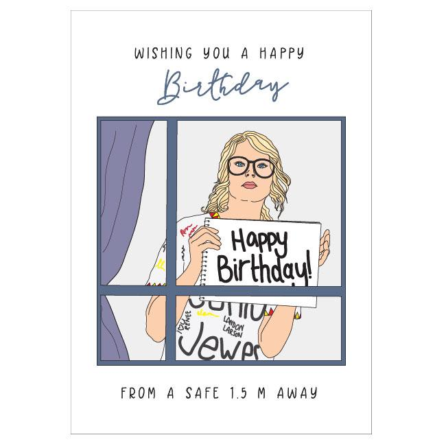 Card Taylor Swift Birthday Homing Instincts