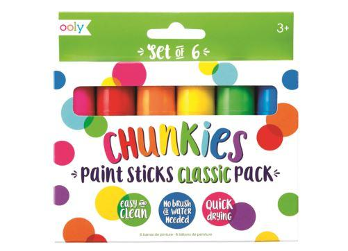 Chunky Paint Sticks set of 6-Ooly-Homing Instincts