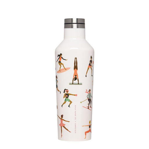 Corkcicle | Rifle Paper Canteen Bottle 475ml - Sports Girls-Corkcicle-Homing Instincts