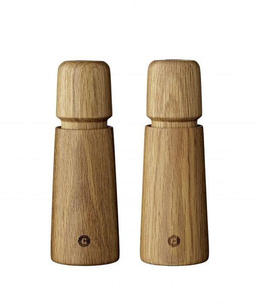 CrushGrind | Stockholm Oak Salt and Pepper Set-Albi Imports-Homing Instincts