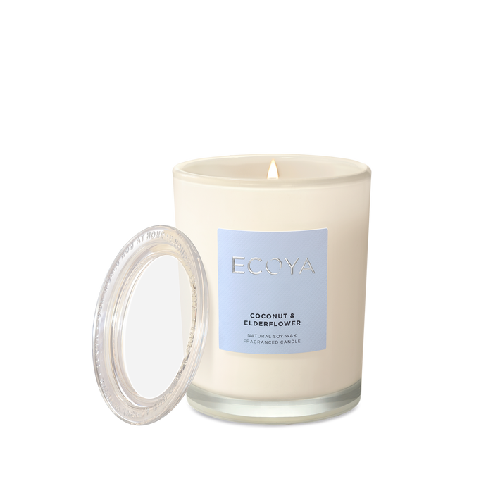 Ecoya | Coconut & Elderflower Metro Jar Candle-Ecoya-Homing Instincts