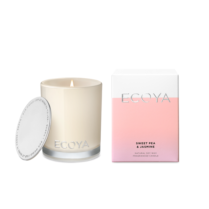 Ecoya | Sweet Pea & Jasmine Mini Madison Candle-Ecoya-Homing Instincts