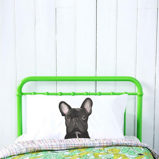 For Me By Dee | Gilbert the Frenchie Pillowcase-For Me By Dee-Homing Instincts