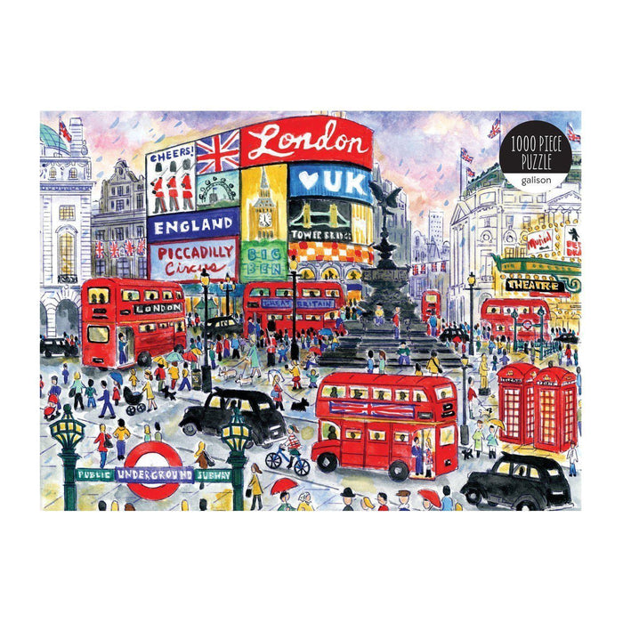 Galison 1000 Piece Jigsaw Puzzle - London-Homing Instincts