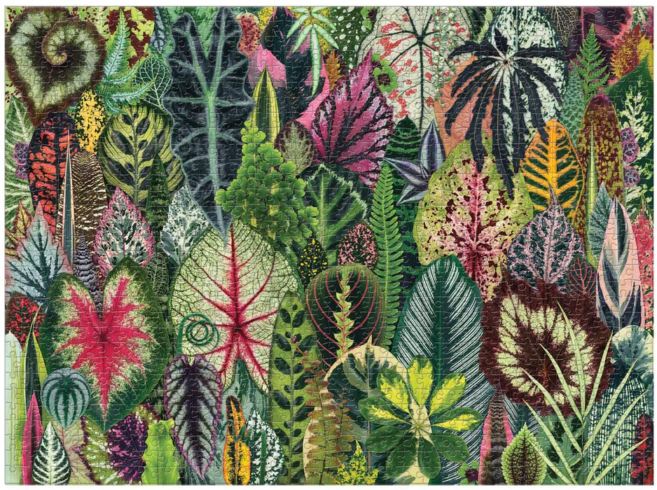 Galison Houseplant Jungle 1000 Piece Jigsaw Puzzle-Galison-Homing Instincts