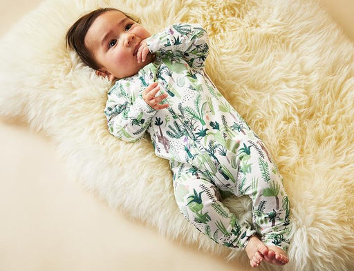 Halcyon Nights | Zip Sleepsuit Fern Gully-Halcyon Nights-Homing Instincts