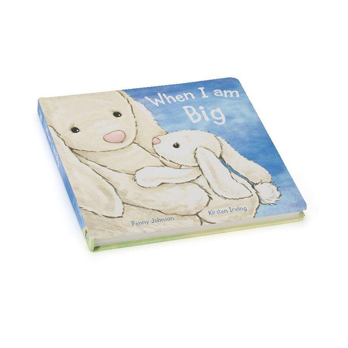 Jellycat | When I am Big (Bashful Bunny Book)-Jellycat-Homing Instincts