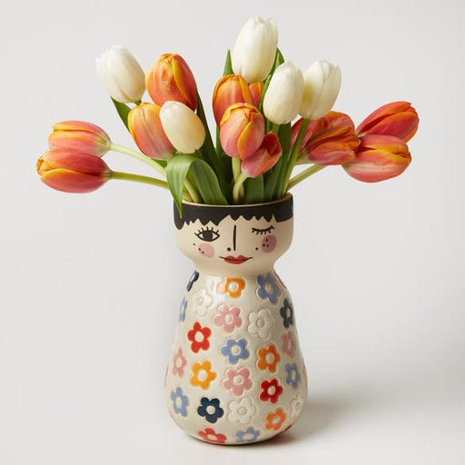 Jones & Co | Billie Face Vase-Jones & Co-Homing Instincts