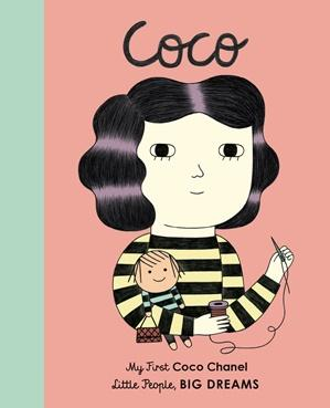 Little People Big Dreams Coco Chanel Board Book-Brumby Sunstate-Homing Instincts