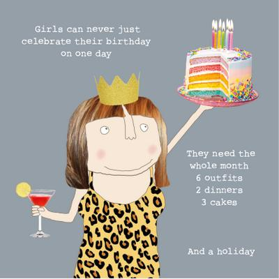 McMillan Cards & Paper | Happy Birthday Girls Birthday-McMillan Cards & Paper-Homing Instincts