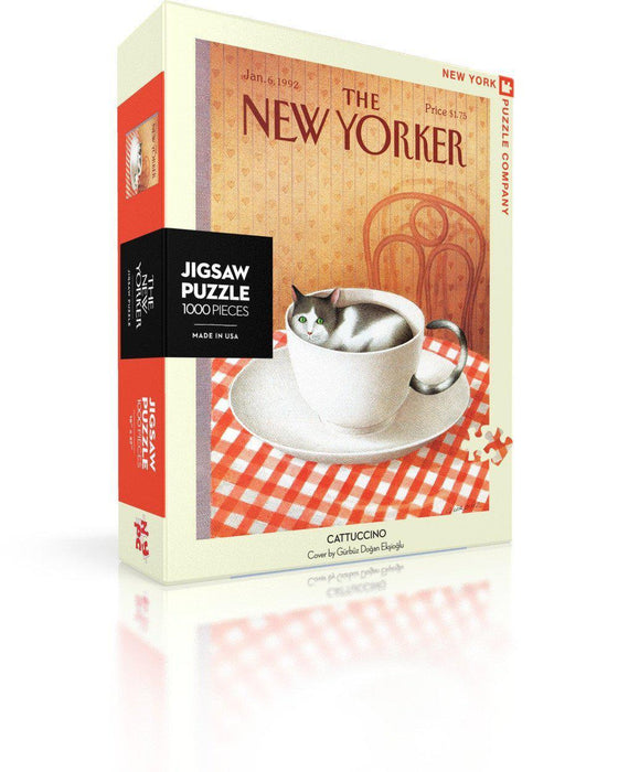 New York Puzzle Company | Cattuccino Puzzle-New York Puzzle Company-Homing Instincts