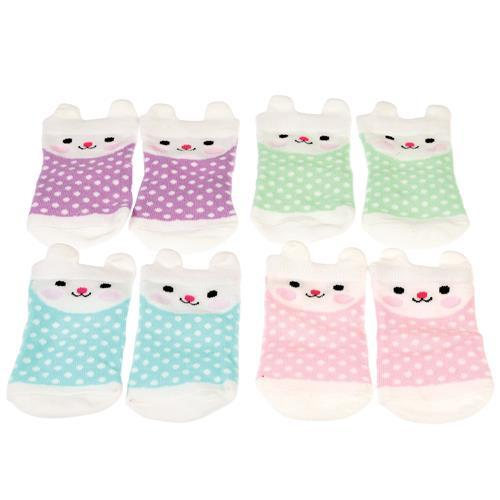 Outliving | Baby Bunny Socks (4 Pack)-Outliving-Homing Instincts