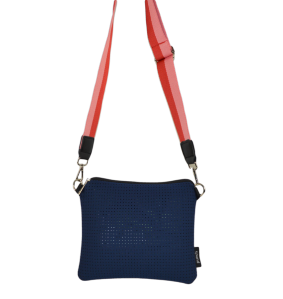 Punch Neoprene | New Flat Crossbody Bag with Featured Straps-Homing Instincts