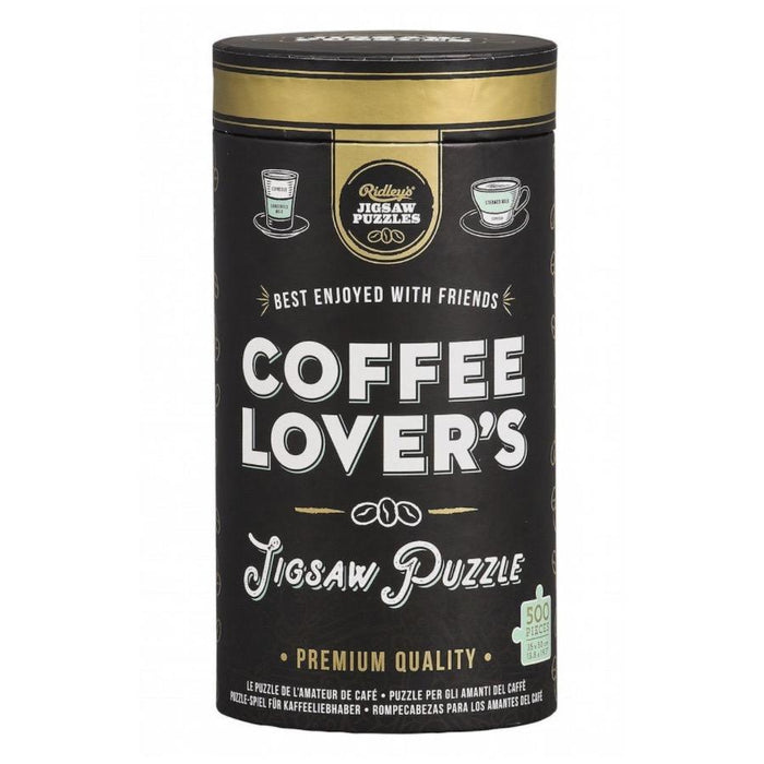 Ridley's | Coffee Lover's Jigsaw - 500 piece puzzle-Wild and Wolf-Homing Instincts