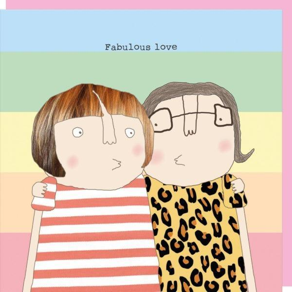 Rosie Made a Thing | Fab Girl Love Valentine's Card-Rosie Made A Thing-Homing Instincts