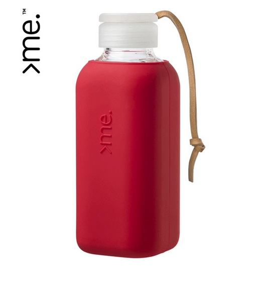 Squireme | Me Glass Water Bottle-Destination Label-Homing Instincts