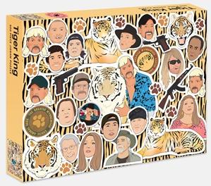 Tiger King 500 Piece Jigsaw Puzzle-Brumby Sunstate-Homing Instincts