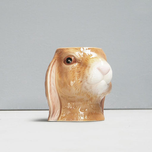White Moose | Ceramic Planter Bunny-Homing Instincts