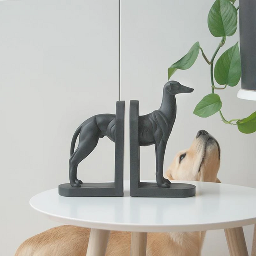 White Moose | Kenny Greyhound Bookends-White Moose-Homing Instincts