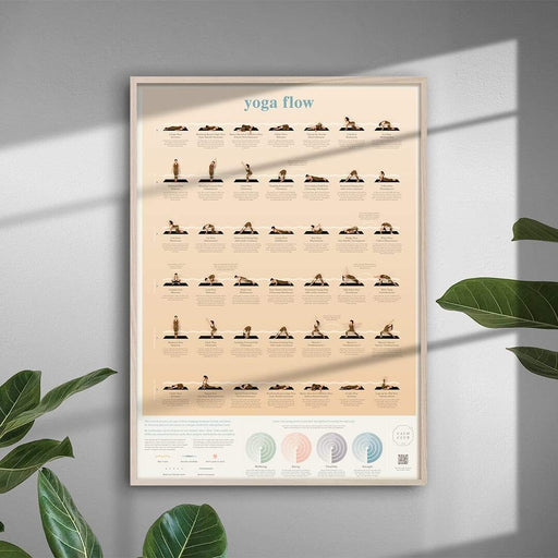 Yoga Flow Poster-IS Gift-Homing Instincts