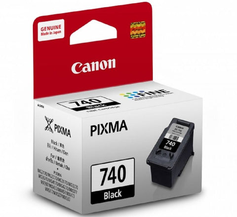 Canon Ink Cartridge PG-740 Bk