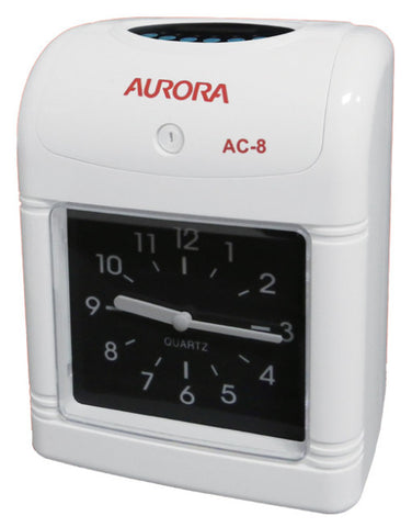 Aurora AC8 Time Recorder - Soca Computer Accessories Supplies