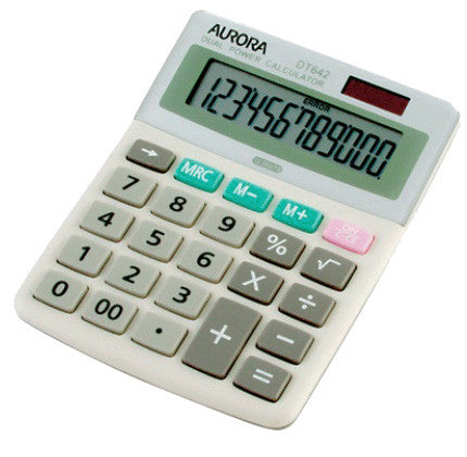 Aurora Calculator DT 642 12 Digit - Soca Computer Accessories Supplies