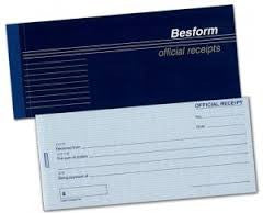 Official Receipt Pad 2ply NCR 25's - Soca Computer Accessories Supplies