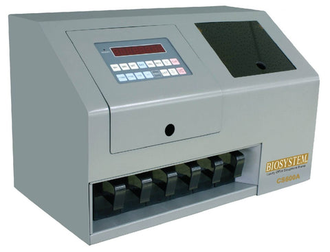 Biosystem CS600A Heavy Duty Coin Counter