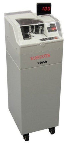 Biosystem VE-650 Heavy Duty Note Counter