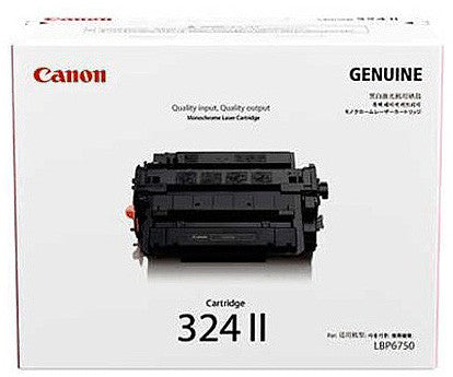 Canon Toner Cart 324 II Bk - Soca Computer Accessories Supplies
