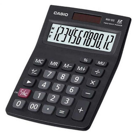 Casio Calculator MZ 12 - Soca Computer Accessories Supplies