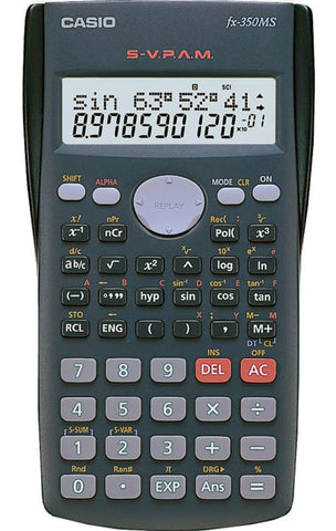 Casio Calculator FX 350Ms - Soca Computer Accessories Supplies