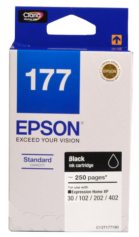 Epson Ink Cartridge T177 Bk - Soca Computer Accessories Supplies