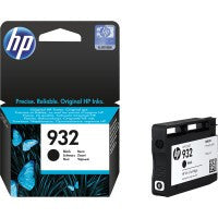 Hp Ink Cartridge #932 Bk - Soca Computer Accessories Supplies
