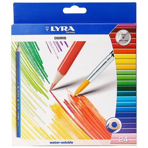 Lyra Color Pencil 24's - Soca Computer Accessories Supplies