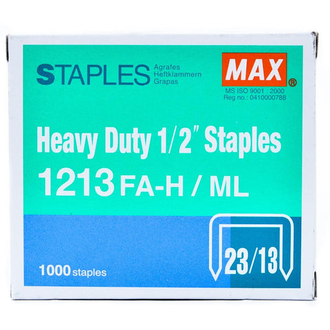Max Staples 1213FAH - Soca Computer Accessories Supplies