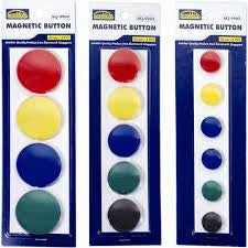 Magnetic Button 30mm 5's - Soca Computer Accessories Supplies
