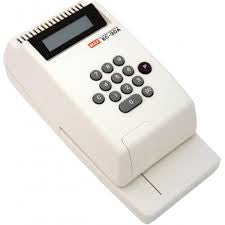 Max EC-30A Electronic Check Writer - Soca Computer Accessories Supplies