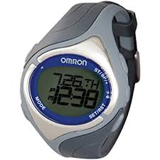 Omron HR-210 Strap Free Heart Rate Monitor Wrist Watch