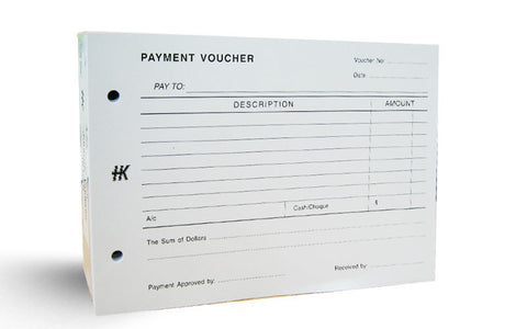 Payment Voucher Pad - Soca Computer Accessories Supplies