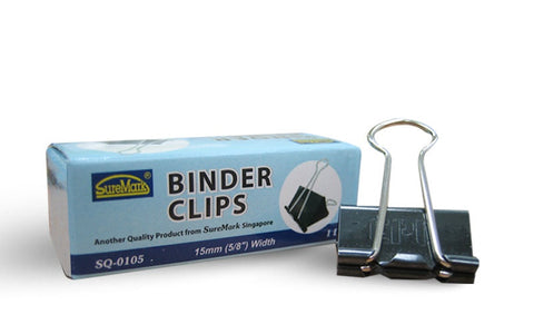 "Binder Clip 1/2"" SQ105 (15mm) - Soca Computer Accessories Supplies"