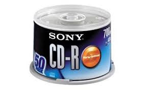 Sony CDR 50's per spindle - Soca Computer Accessories Supplies