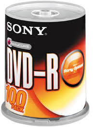 Sony DVD+-R 100's per spindle - Soca Computer Accessories Supplies