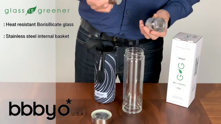 Glass is Greener Tea Thermos