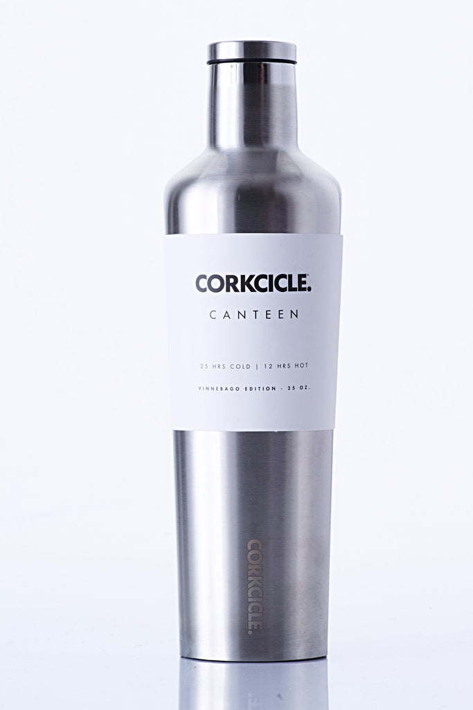 "TRVLR by BBBYO, Cooler Carry Cover for Corkcicle® ""POPPY"" - 25 oz"